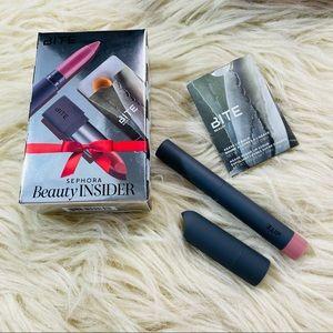 BITE BEAUTY Sephora mini lip crayon lipstick set